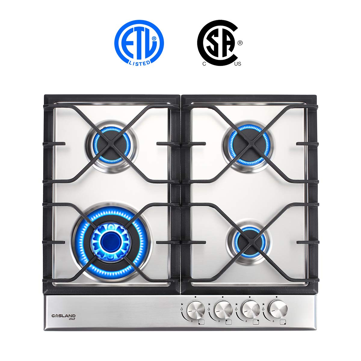 Gasland Chef Gh60sf Gas Cooktop 24 Quot Built In Stove Top